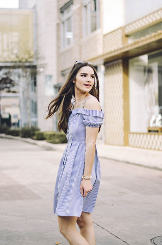 Julianna Dress - Everly Oak Preppy Fashion