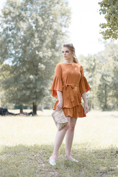 Spice Dress - Everly Oak Preppy Fashion