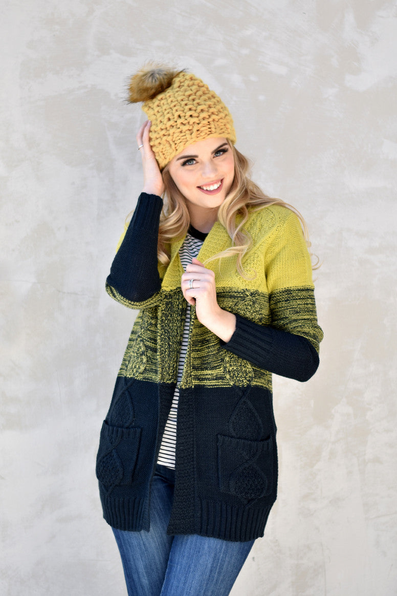 Hattie Cardigan - Everly Oak Preppy Fashion