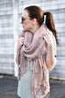 Austin Scarf Mauve - Everly Oak Preppy Fashion