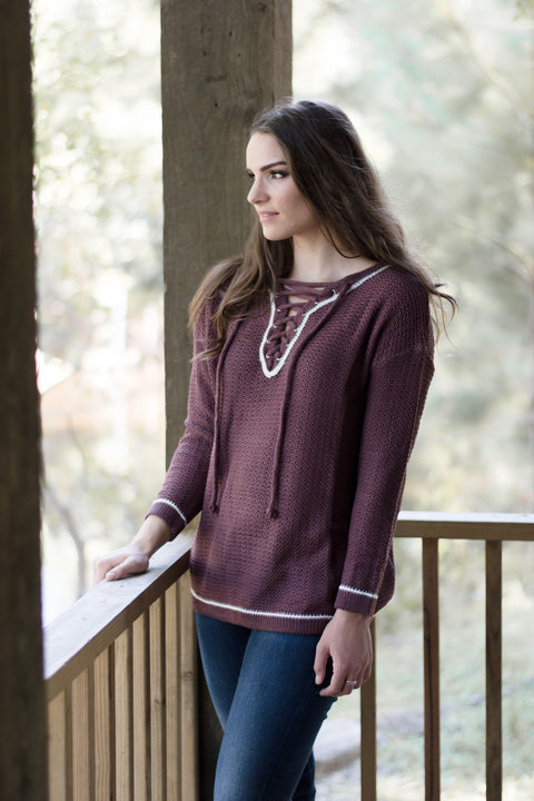 Abigail Sweater - Everly Oak Preppy Fashion