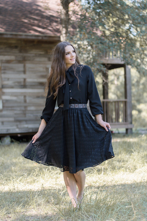 AZTEC SKIRT - Everly Oak Preppy Fashion