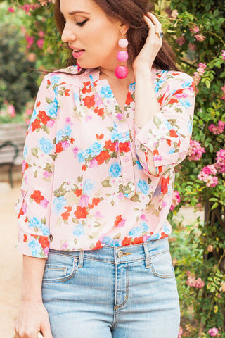 Florence Floral Blouse