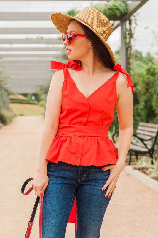 Rosemary Blouse - Everly Oak Preppy Fashion