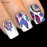 1 sheet Dreamcatcher Stickers Feather Nail Art