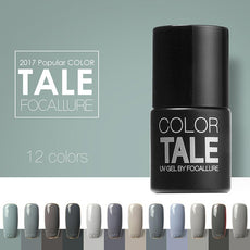 12ML Gray Color Gel Nail Polish