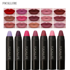 19pcs/set Waterproof Matte Lipstick