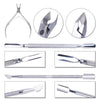 3pieces-lot Nail Art Manicure Tools Kits Set