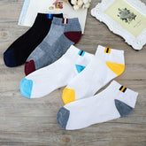 5 Pairs Of Direct Spring Autumn Standard Men Socks