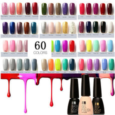 60 Colors Fast Dry UV Gel Nail Polish