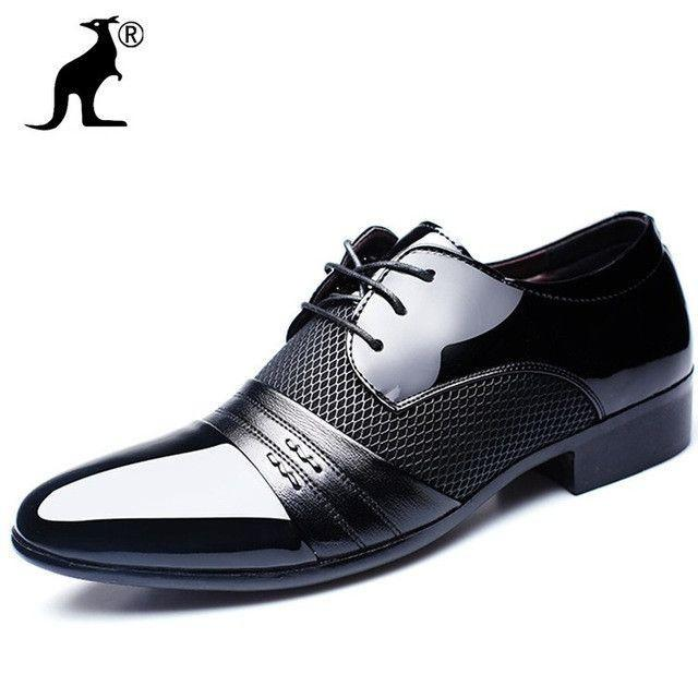 Breathable Wedding Shoes Flat Male Business