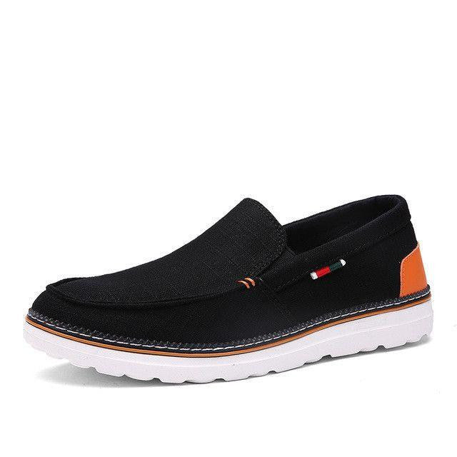 Canvas Slip-on Men Driving Shoes