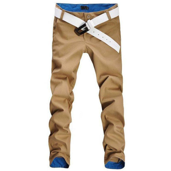 Casual pants men new design high quality cotton - Fashion Cornerstone