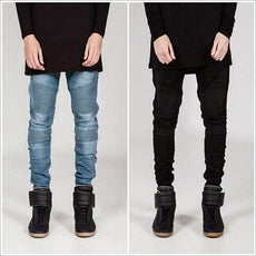 Denim Pencil Foot Jeans