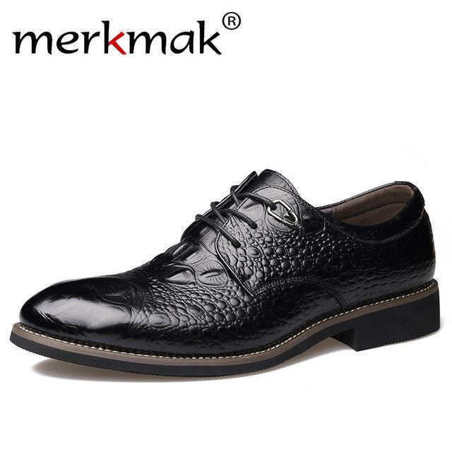 Dress Shoes Genuine Leather Men's Oxford Shoes