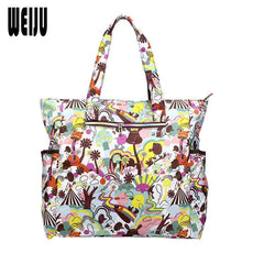 Flower Printing Women Handbag Shoulder Beach Bag