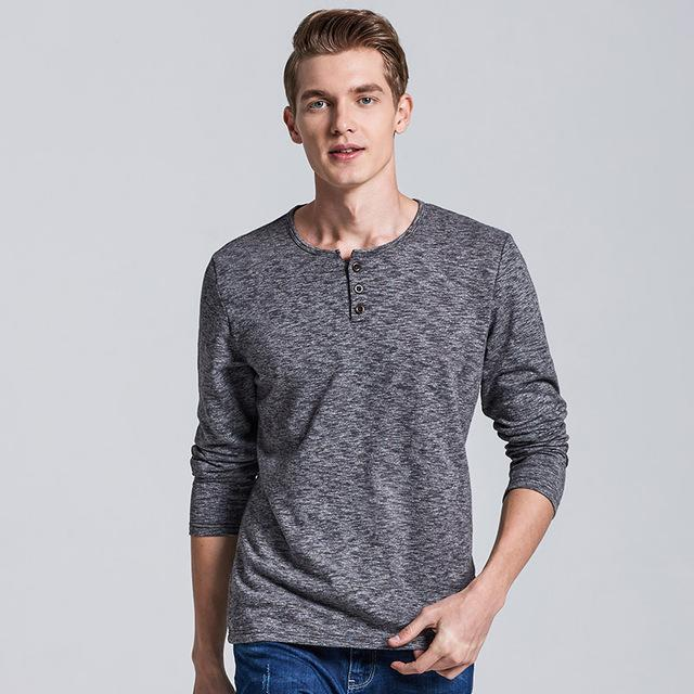 Gentleman's Casual Long Sleeve Shirt