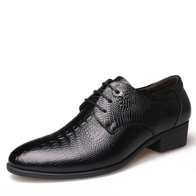 Genuine Leather Men Flats Business