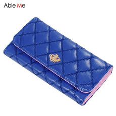 Ladies Card Holder Hasp Clam shell Money Pocket