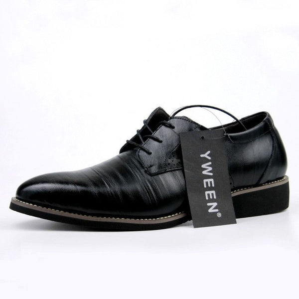 Leather Shoes Men,Lace up Business-Mens Shoes-Fashion Cornerstone