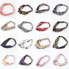 Lovely Retro Cross Vintage Multi-colors Cloth Headband
