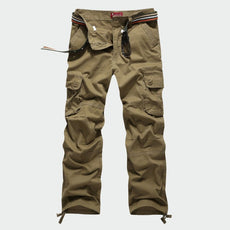 Mens Cargo Pants Cotton Plus Size Men Trousers Joggers