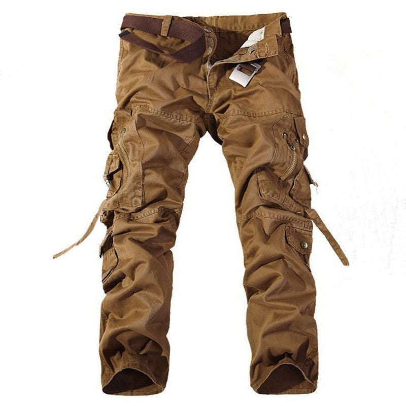 Men's Multi-Pockets Casual Camouflage Pants