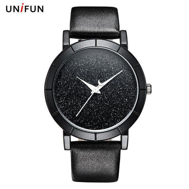 New Creative Design Starry Sky Simple Watch