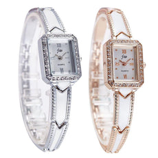 New Rhinestone Watches Women Stainless Steel