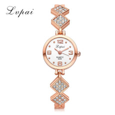 New Women Lady Rhombus Pendant Watches