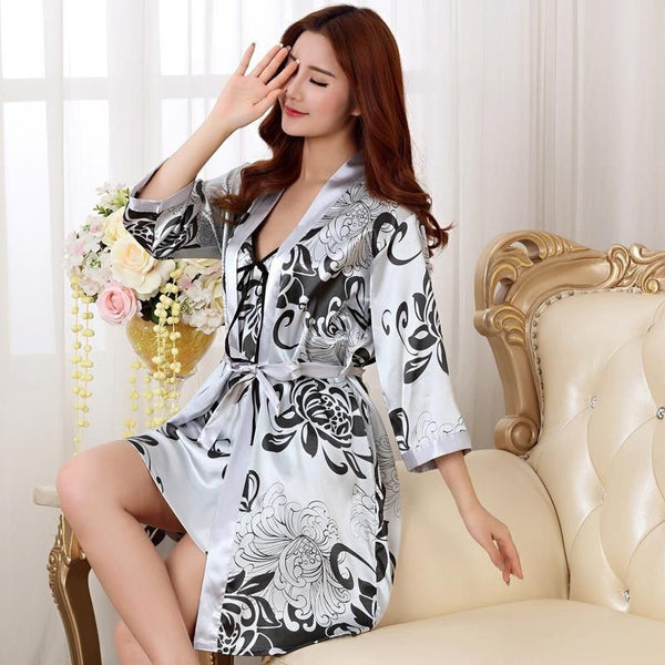 Nightwear sexy sleepwear lingerie sleep shirts-Nightgown-Fashion Cornerstone