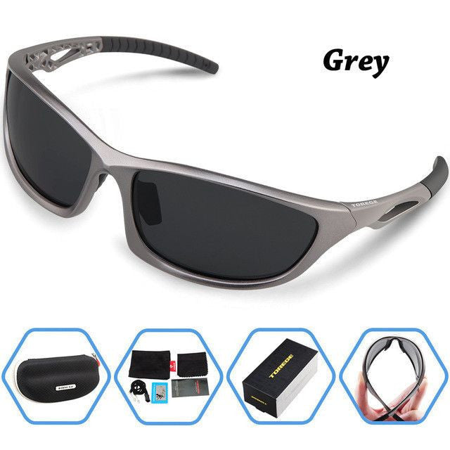 Polarized Sunglasses  TR90 Unbreakable Frame Lightweight