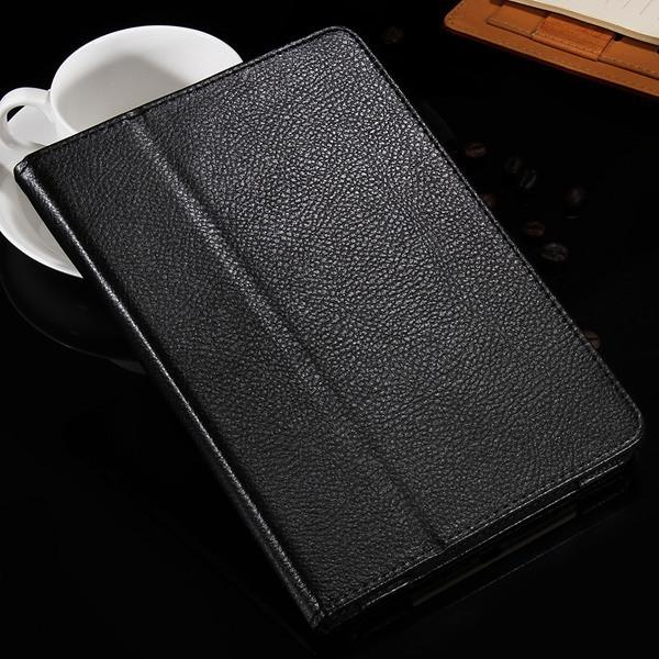 Retro Stand Function Business Book Leather Case