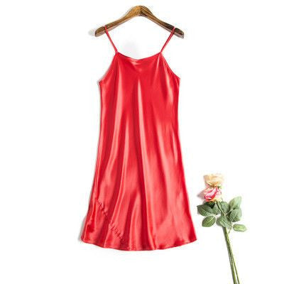 Silk Dress sleepwear healthy home dress Slips