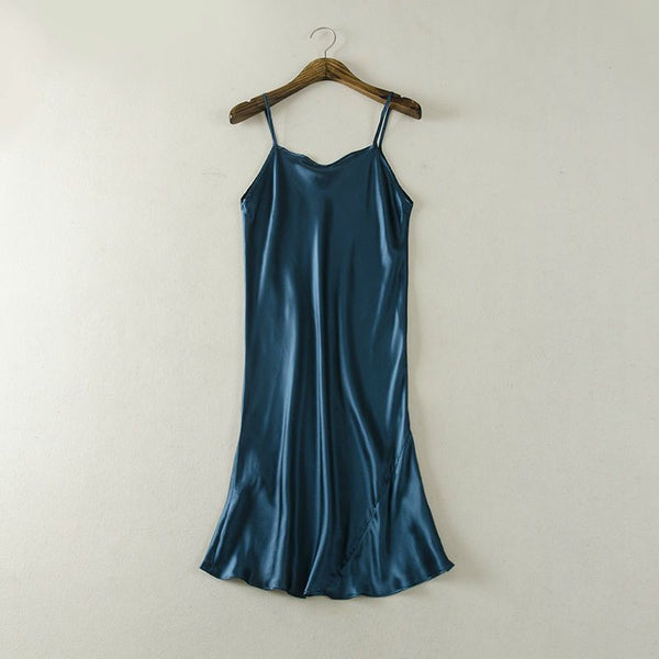 Silk Dress sleepwear healthy home dress Slips - Fashion Cornerstone