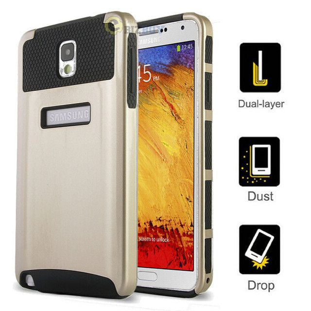 Slim Hybrid Shockproof Protective Hard Cover Case Skin For Samsung Galaxy Note 3