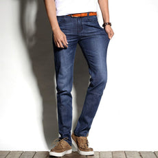 Spring Autumn  Jean Slim Regular Fit Stretch Jeans