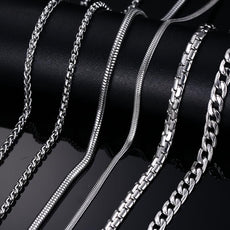Stainless Steel Snake Chain 20/24inch