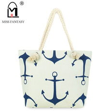 Summer Bag Canvas Female Shoulder Bag
