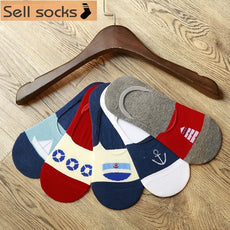 Summer Hot short man cotton socks invisible