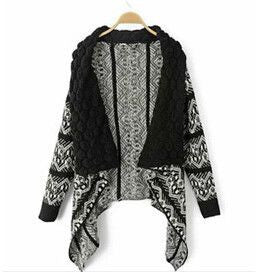 Women Big Casual Knitting Sweater