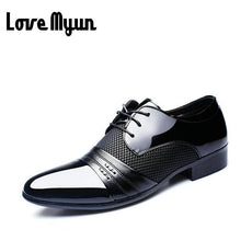 Working Office shoes mens patent leather shoes