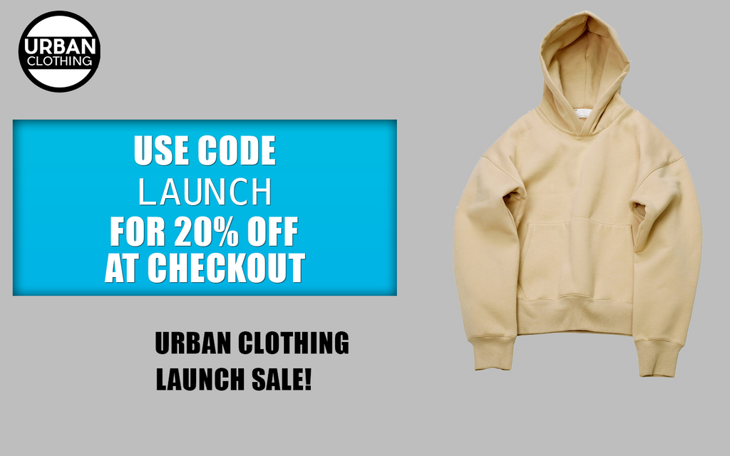 Welcome to Urban Clothing! - Have a FREE 20% Discount!