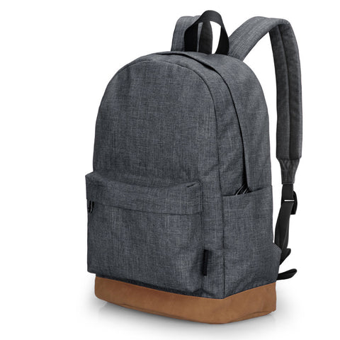 Solid Colour Canvas Back Pack - Urban Clothing Online