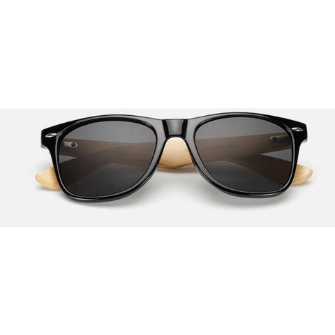 Bamboo Frame Sunglasses - Urban Clothing Online