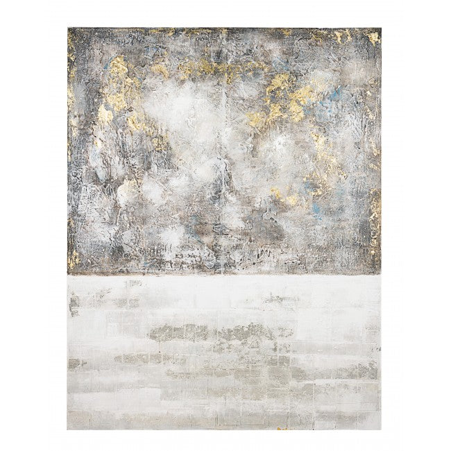 ΠΙΝΑΚΑΣ ΒΙΖΖΟΤΤΟ Abstract Art Crown 20846-4 Grey-Gold 140x180cm