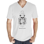 Memento Mori Men's V-Neck | Light