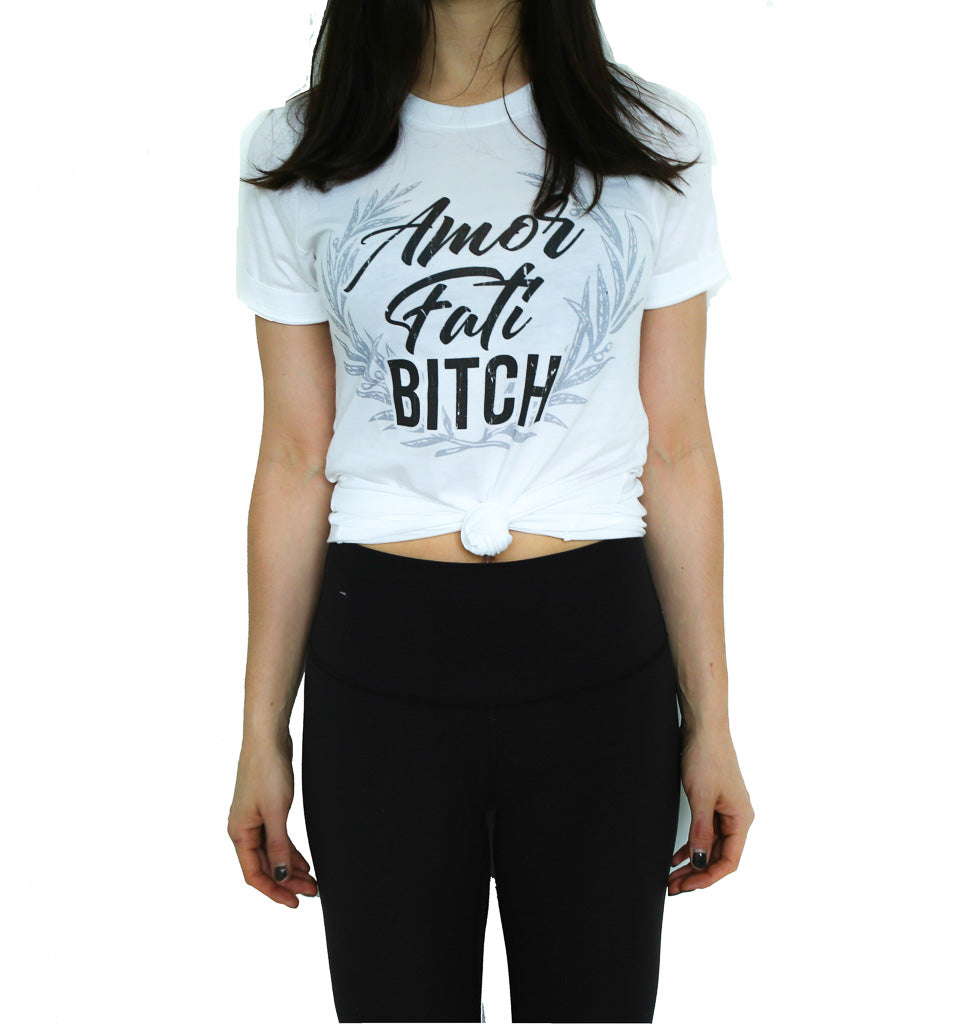 Amor Fati Bitch Unisex Hemp Organic T-Shirt