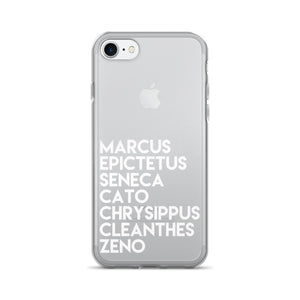 Stoic Masters iPhone 7/7+ White Case