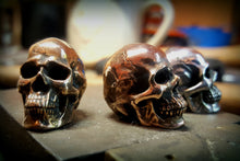 Rose Gold Plated Bronze Skull Control Knob